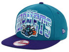 Charlotte Hornets New Era NBA HWC Out of Line 9FIFTY Snapback Cap Adjustable Hats