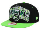 Atlanta Hawks New Era NBA HWC Out of Line 9FIFTY Snapback Cap Adjustable Hats