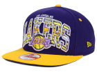 Los Angeles Lakers New Era NBA HWC Out of Line 9FIFTY Snapback Cap Adjustable Hats