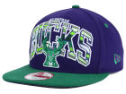 Milwaukee Bucks New Era NBA HWC Out of Line 9FIFTY Snapback Cap Adjustable Hats