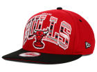 Chicago Bulls New Era NBA HWC Out of Line 9FIFTY Snapback Cap Adjustable Hats
