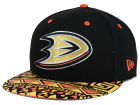 Anaheim Ducks New Era NHL Cross Colors 9FIFTY Snapback Cap Adjustable Hats