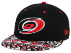 Carolina Hurricanes New Era NHL Cross Colors 9FIFTY Snapback Cap Adjustable Hats