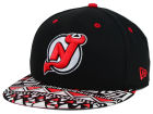 New Jersey Devils New Era NHL Cross Colors 9FIFTY Snapback Cap Adjustable Hats