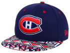 Montreal Canadiens New Era NHL Cross Colors 9FIFTY Snapback Cap Adjustable Hats