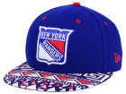 New York Rangers New Era NHL Cross Colors 9FIFTY Snapback Cap Adjustable Hats