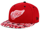 Detroit Red Wings New Era NHL Cross Colors 9FIFTY Snapback Cap Adjustable Hats