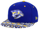 Nashville Predators New Era NHL Cross Colors 9FIFTY Snapback Cap Adjustable Hats