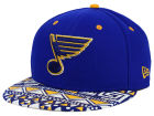 St. Louis Blues New Era NHL Cross Colors 9FIFTY Snapback Cap Adjustable Hats