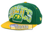 Seattle SuperSonics New Era NBA HWC Youth Out of Line 9FIFTY Snapback Cap Adjustable Hats