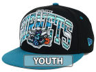 Charlotte Hornets New Era NBA HWC Youth Out of Line 9FIFTY Snapback Cap Adjustable Hats