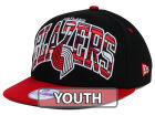 Portland Trail Blazers New Era NBA HWC Youth Out of Line 9FIFTY Snapback Cap Adjustable Hats