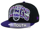 Sacramento Kings New Era NBA HWC Youth Out of Line 9FIFTY Snapback Cap Adjustable Hats