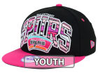 San Antonio Spurs New Era NBA HWC Youth Out of Line 9FIFTY Snapback Cap Adjustable Hats