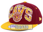 Cleveland Cavaliers New Era NBA HWC Youth Out of Line 9FIFTY Snapback Cap Adjustable Hats