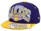 Los Angeles Lakers New Era NBA HWC Youth Out of Line 9FIFTY Snapback Cap Adjustable Hats