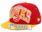 Atlanta Hawks New Era NBA HWC Youth Out of Line 9FIFTY Snapback Cap Adjustable Hats