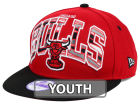 Chicago Bulls New Era NBA HWC Youth Out of Line 9FIFTY Snapback Cap Adjustable Hats