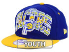 Indiana Pacers New Era NBA HWC Youth Out of Line 9FIFTY Snapback Cap Adjustable Hats