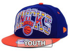 New York Knicks New Era NBA HWC Youth Out of Line 9FIFTY Snapback Cap Adjustable Hats