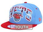 New Jersey Nets New Era NBA HWC Youth Out of Line 9FIFTY Snapback Cap Adjustable Hats