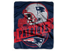New England Patriots The Northwest Company 50x60in Plush Throw Blanket
