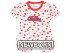 Mississippi Rebels NCAA Newborn Polka Dot Romper Infant Apparel