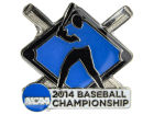 College World Series 2014 Aminco Inc. 2014 CWS Bats And Balls Pin Pins, Magnets & Keychains