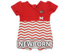 Louisville Cardinals NCAA Newborn Chevron Romper Infant Apparel