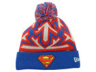 DC Comics Superman Glow Zoom Pom Knit Hats