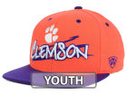 Clemson Tigers Top of the World NCAA Youth Hot Streak Snapback Cap Adjustable Hats