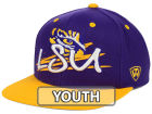 LSU Tigers Top of the World NCAA Youth Hot Streak Snapback Cap Adjustable Hats