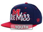 Mississippi Rebels Top of the World NCAA Youth Hot Streak Snapback Cap Adjustable Hats