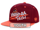 Virginia Tech Hokies Top of the World NCAA Youth Hot Streak Snapback Cap Adjustable Hats