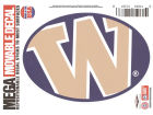 Washington Huskies Moveable 5x7 Decal Auto Accessories