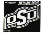 Oklahoma State Cowboys 3x6 Metallic Decal Bumper Stickers & Decals