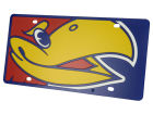 Kansas Jayhawks Mega License Plate Auto Accessories
