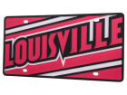 Louisville Cardinals Mega License Plate Auto Accessories