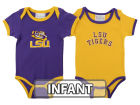 LSU Tigers NCAA Infant 2 Pack Contrast Creeper Infant Apparel