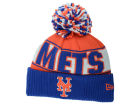 New York Mets New Era MLB Rep Your Team Pom Knit Hats