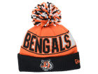 Cincinnati Bengals New Era NFL Rep Your Team Pom Knit Hats