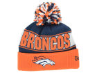 Denver Broncos New Era NFL Rep Your Team Pom Knit Hats