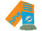 Miami Dolphins Forever Collectibles Knit Scarf Wordmark Apparel & Accessories