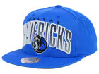 Dallas Mavericks Mitchell and Ness NBA Teamstand Arch Snapback Cap Adjustable Hats
