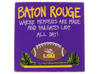 LSU Tigers Tailgate Board Collectibles