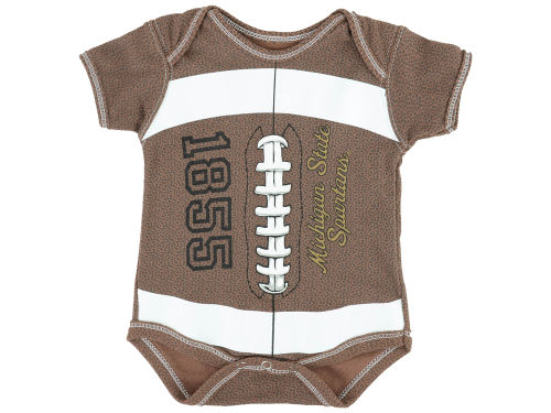 Michigan State Spartans NCAA Infant MVP Football Creeper