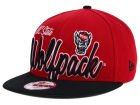 North Carolina State Wolfpack New Era NCAA Team Script 9FIFTY Snapback Cap Adjustable Hats