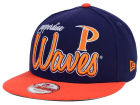 Pepperdine Waves New Era NCAA Team Script 9FIFTY Snapback Cap Adjustable Hats