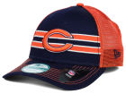 Chicago Bears New Era NFL Frontband Trucker XP 9FORTY Cap Adjustable Hats