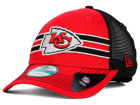 Kansas City Chiefs New Era NFL Frontband Trucker 9FORTY Cap Adjustable Hats